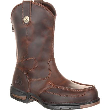 Georgia Boot Athens Pull-On Work Boot, , large