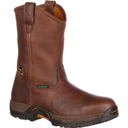 Bota Wellington impermeable con punta de acero Georgia Diamond Trax., , large