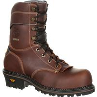 Georgia Boot AMP LT Logger Composite Toe Waterproof Work Boot, , medium