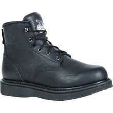Georgia Boot Black Wedge Work Boot