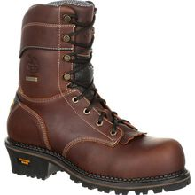 Georgia Boot AMP LT Logger Waterproof Work Boot