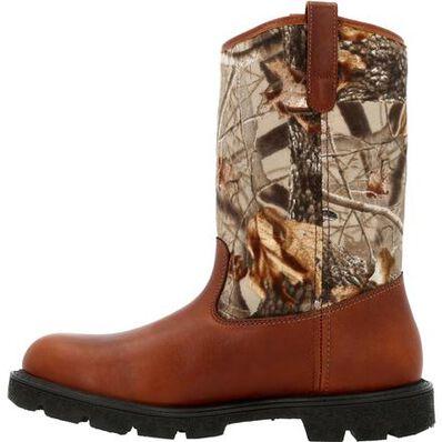 Georgia Boot® Homeland Waterproof Wellington Camo Work Boot, , large