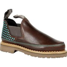 Georgia Boot Georgia Giant Women's Brown and Teal Romeo Shoe