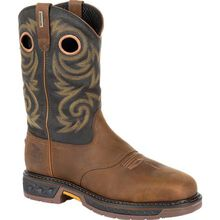 Georgia Boot Carbo-Tec LT Steel Toe Waterproof Pull On Work Boot