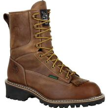 Georgia Boot Steel Toe Waterproof Logger Work Boot