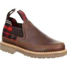 Georgia Giant Women's Brown and Plaid Romeo Shoe