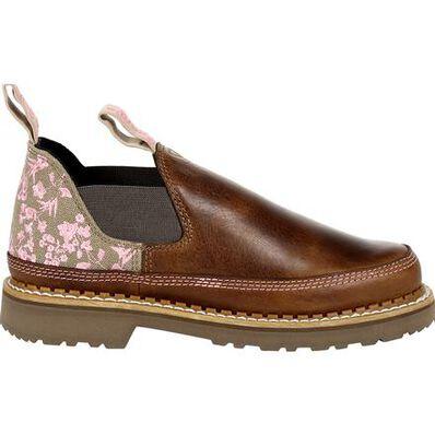 Georgia Boot Georgia Giant Women's Brown and Pink Blossom Romeo Shoe, , large