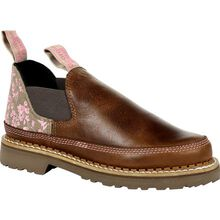 Georgia Boot Georgia Giant Women's Brown and Pink Blossom Romeo Shoe