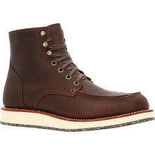 """Small Batch 6"""" Moc-toe Eco Wedge Boots"""