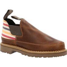 Georgia Boot Women's Brown and Stripe Romeo Shoe