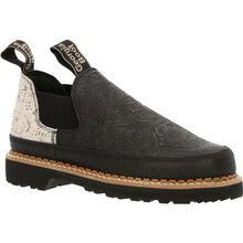 Georgia Boot Women's Black and Tweed Romeo Shoe