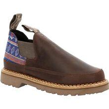Georgia Boot Women's Brown and Blue Romeo Shoe