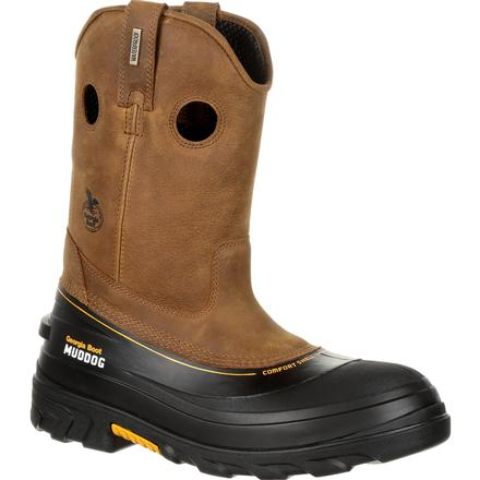 Georgia Boot Muddog Composite Toe Waterproof Work Wellington