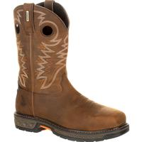 Georgia Boot Carbo-Tec LT Alloy Toe Waterproof Pull-On Boot, , medium