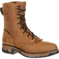 Georgia Boot Carbo-Tec Composite Toe Waterproof Work Lacer, , medium