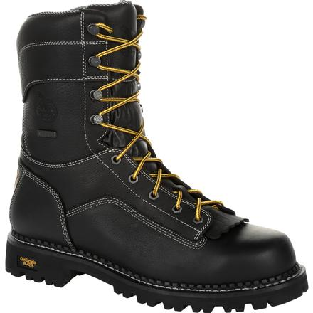 Georgia Boot AMP LT Logger Composite Toe Waterproof Work Boot