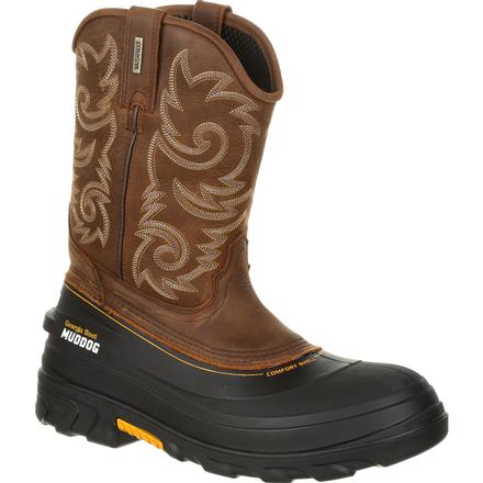 Georgia Boot Muddog Waterproof Western Work Wellington