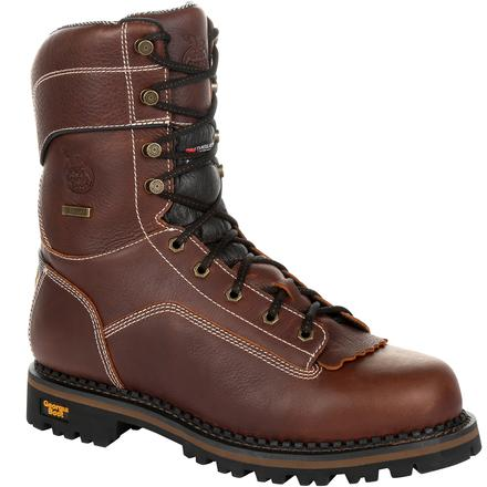 Georgia Boot AMP LT Logger Waterproof Insulated Work Boot
