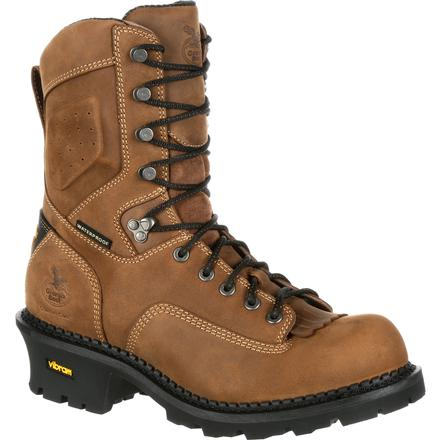 Georgia Boot Comfort Core Logger Waterproof Work Boot