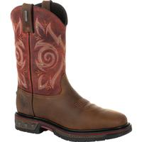 Georgia Boot Carbo-Tec LT Waterproof Pull-on Work Boot, , medium