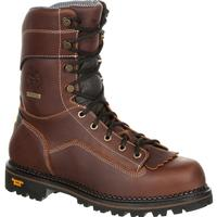 Georgia Boot AMP LT Logger Low Heel Waterproof Work Boot, , medium