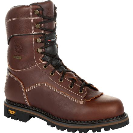 Georgia Boot AMP LT Logger Composite Toe Waterproof Insulated Work Boot