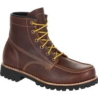 Georgia Boot Small Batch Brown Boot, , medium