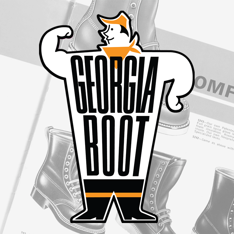 1960's Georgia Boot Catalog with an old Georgia Logo